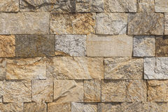 The wall of stones blocks. Royalty Free Stock Images