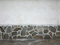 Wall with stones finish Royalty Free Stock Photos