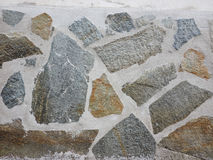 Wall with stones finish Stock Photography