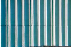 Wall with straight vertical lines Stock Image