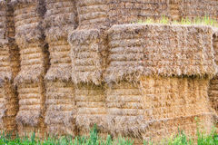 Wall of straw Royalty Free Stock Image