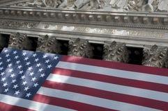 Wall Street à New York City Images libres de droits