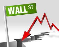 Wall street 01 Royalty Free Stock Photo