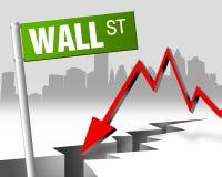 Wall Street 03 Imagenes de archivo