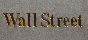 Wall Street immagine stock