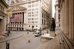 Wall Street imagens de stock