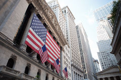 Wall street stock images