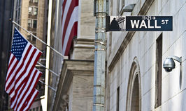 The Wall Street Royalty Free Stock Images