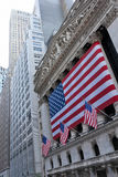 Wall Street Royalty-vrije Stock Afbeelding