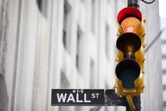 Wall Street imagens de stock royalty free