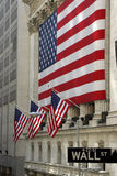 Wall Street Image stock