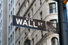 Wall Street Images stock