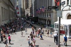 Wall Street Immagini Stock Libere da Diritti