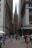 Wall Street Imagem de Stock Royalty Free