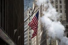 Wall Street Foto de Stock Royalty Free