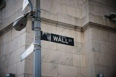 Wall Street Lizenzfreie Stockfotos