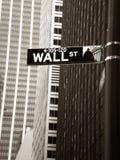 Wall Street Стоковые Фотографии RF