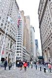 Wall Street Royalty-vrije Stock Afbeeldingen