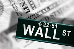 Wall Street Royalty Free Stock Image