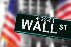 Wall Street Imagen de archivo