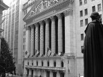 Wall Street. Imágenes de archivo libres de regalías