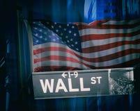 Wall Street Stock Afbeeldingen
