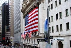 Wall Street Fotografia de Stock Royalty Free