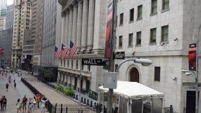 Wall Street Royaltyfri Bild