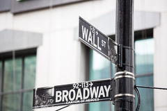 Wall street Royalty Free Stock Image