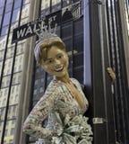 Wall Street Hillary Arkivfoton