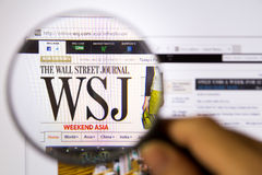 Wall Street Journal stockfotografie