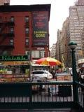 Wall Street korruption, NYC, NY, USA arkivfoton