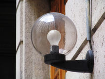 Wall Street-Lamp Stock Foto