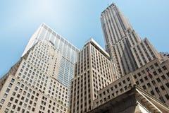 Wall street Manhattan Stock Image