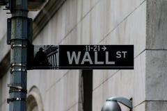 Wall Street, Manhattan, NYC Obraz Royalty Free