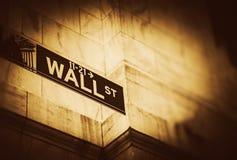 Wall Street miejsce Fotografia Royalty Free