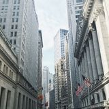 Wall Street, New York Fotografia Stock Libera da Diritti