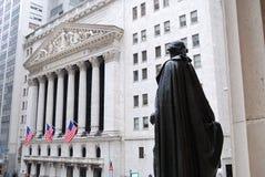 Wall Street, New York City Stock Photo