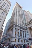 Wall Street New York City Royalty Free Stock Image