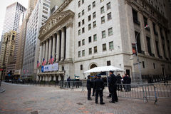 Wall Street New York City Stockfoto
