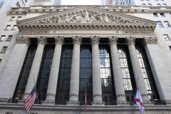 Wall Street - New York City Royaltyfri Foto