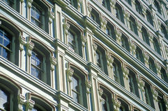 Wall Street in New York City, NY Royalty Free Stock Photo