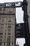 Wall Street, New York City, USA. Stock Photos