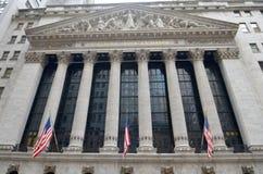 Wall Street, New York City, USA. Royalty Free Stock Photo