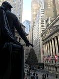Wall Street, New York, U.S.A. Fotografia Stock Libera da Diritti