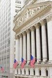 Wall Street, NY Stock Image