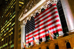 Wall Street, NYSE Stockfotos
