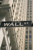 Wall street shuffle Stock Image