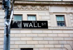 Free Wall Street Sign Royalty Free Stock Images - 2163929