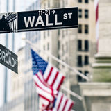 Wall street sign in New York Royalty Free Stock Photography